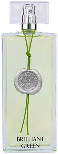 Greendoor Eau de Parfum EdP Brilliant Green aus Bio Alkohol, frisches Damen Natur Parfüm aus der Manufaktur 50ml, Naturkosmetik, natürliches Geburtstags-Geschenk Geschenke Weihnachten Geburtstag