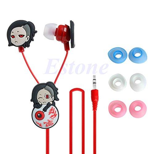 Eliky Fashion Anime Tokyo Ghoul Kaneki Ken Kopfhörer Ohrhörer Kopfhörer Headset Cosplay Anime-headset