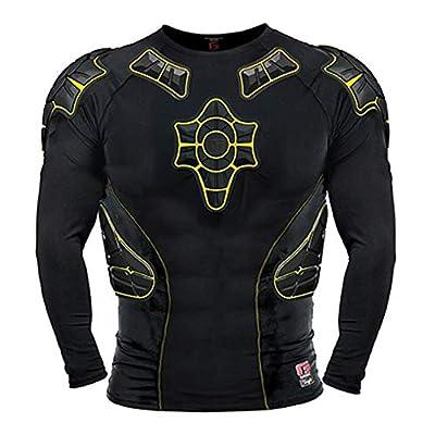 G-Form Pro-X Shirt Long Sleeve Black-Yellow XL