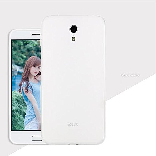 Premsons Lenovo Zuk Z1 White Silicon Pudding Tpu Back Cover Case