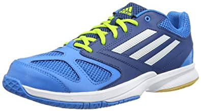 adidas Feather Team 2 D66974 Herren Handballschuhe, Blau (solar blue s14/tribe blue s14/running white), EU 48 (UK 12.5)