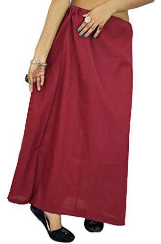 Indianbeautifulart -  Sottoveste modellanti  - Donna braun-1