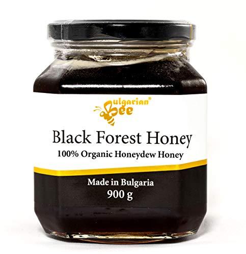 900 g Roher Bio Schwarz Honigtau Honig, aus Eichenblättern, Unbeheizter, nicht pasteurisiert