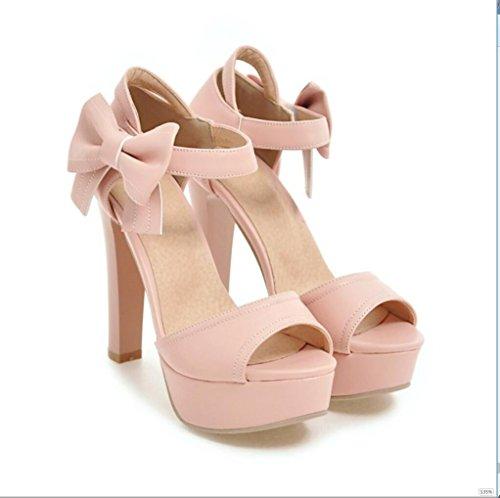 Sproud Fashion Sexy Wasserdicht High Heels Sandaletten Weibliche Bögen Koreanisch Prinzessinnen Und Sommer Schuhe 37 Und