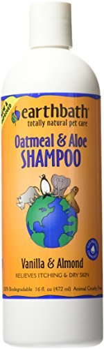 Earthbath Oatmeal and Aloe Itch Relief Pet Shampoo, 472 ml