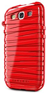 Musubo S3 Rubber Band MU11016RD Case for Samsung Galaxy S3 (Red)