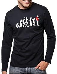 Touchlines Herren langarm T-Shirt Evolution Sheldon