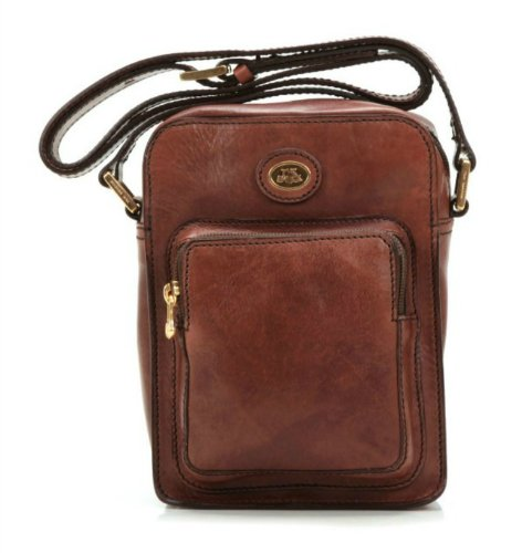 The Bridge Borsa Messenger 05240201-14 Marrone