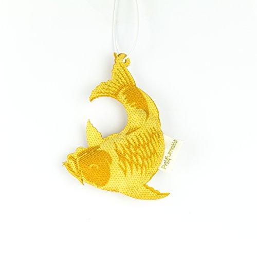 Profumotti carpa gialla - profumatore deodorante per casa e auto made in italy- vaniglia