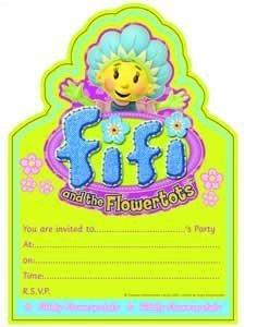 Fifi And The Flowertots Invitations (20pk) by Party Delights
