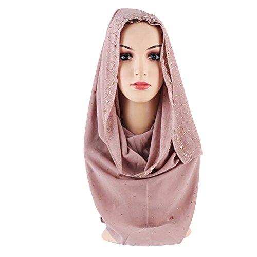 KEEN ZTQ Women's Chiffon Hijab Stylish and Elegant Muslim Hijab Scarf