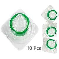 100 paquetes de filtros de sirena para bolígrafos de 33 mm de 0,22 m de micrón internamente hipoalergénico