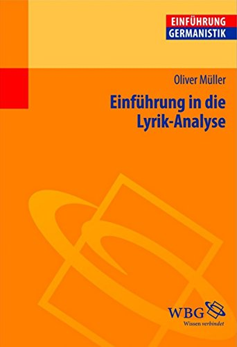 Einführung in die Lyrik-Analyse (Germanistik kompakt)