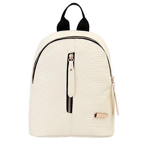 Elecenty Rucksack Backpack Damen,PU Ledertasche Bag Schulranzen Damenrucksack Rucksackhandtaschen...