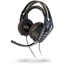 Plantronics RIG 500 HD - Auriculares de diadema cerrados con micrófono, color negro, 17.8 x 19 x 3.8 cm