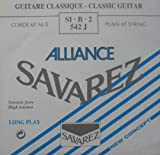 Savarez Corde per chitarra classica Alliance HT Classic 542J corde singole B2/Si2 Carbon high, si adatta al set di corde 540J, 500AJ, 510AJ