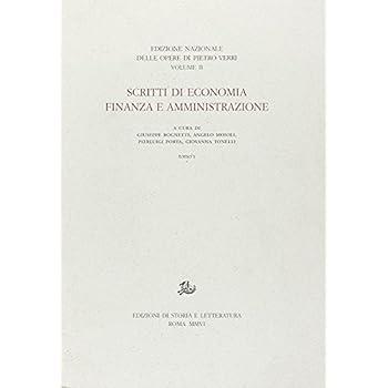 Scritti Di Economia, Finanza E Amministrazione: 1