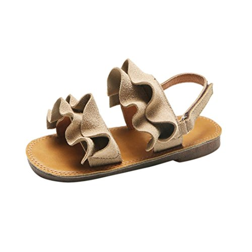 Sandals Kids,Ba Zha  Baby Girls Children Sandals Ruffles Girls Flat Princess Beach Casual Shoes Sneakers Sandals Newborn Sandals Slippers Boots Flats Slip-On Single Shoes Beach Shoes 0-6 Years Old