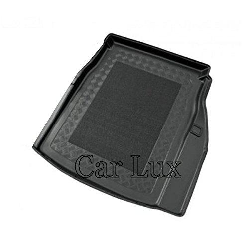 Car Lux AR01492 - Alfombra Cubeta Protector cubre maletero a medida con antideslizante