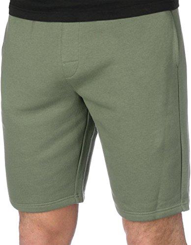 Calvin Klein Classic Logo Taille Trainingsanzug Herrenshorts, Khaki Kleine Calvin Klein Khaki