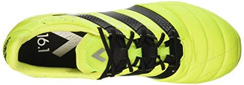 adidas Herren Ace 16.1 Fg Leather Fußballschuhe Gelb (Syello/Cblack/Silvmt)