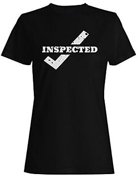 Nuevo Arte Aprobado Inspeccionado camiseta de las mujeres m221f