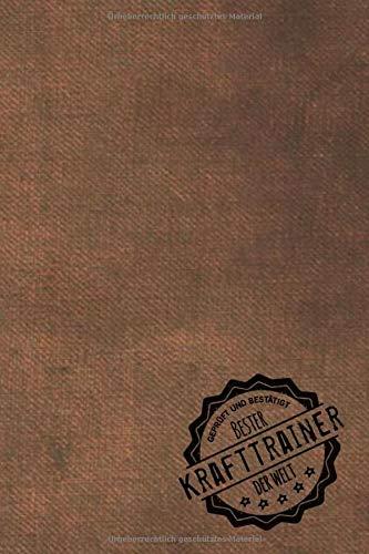 Geprüft und Bestätigt bester Krafttrainer der Welt: inkl. Terminplaner   Kalender 2020 ★   Das perfekte Geschenk für Männer, die ihre Kraft trainieren   Geschenkidee   Geschenke