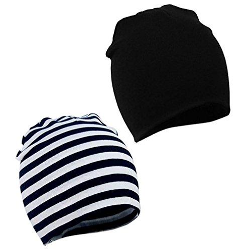 Unisex Baby Mütze Hat Beanie Kinder Hüte Jersy Slouch für Frühling Herbst