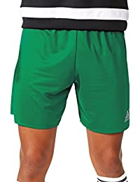 adidas Parma 16 SHO, Pantaloncini Sportivi Uomo, Bold Green/White, 910Y
