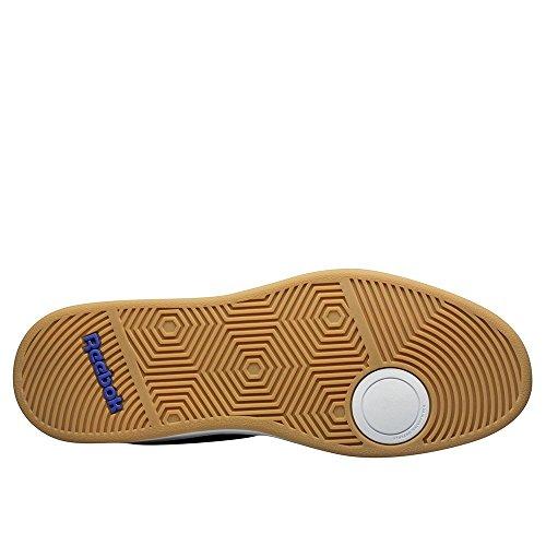 Reebok Royal Slam Sde, Scarpe da Tennis Uomo, Blu, 42 EU Blu / Bianco (Collegiate Navy / White / Gum)