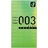 Okamoto 0.03 Aloe Vera (Box of 10) - - Ultra thin latex aloe vera favoured water based lubricated Japanese condom... preisvergleich bei billige-tabletten.eu