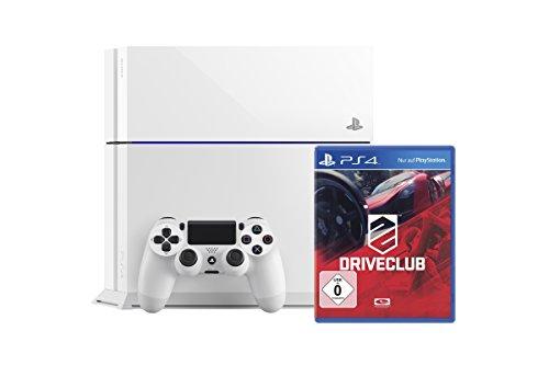 PlayStation 4 - Konsole (weiss) inkl. DriveClub (exklusiv bei Amazon.de) (Konsole Chinesische)