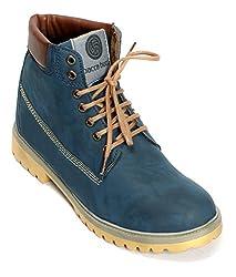 Bacca Bucci Mens Blue Boots - 8 UK, BBMA2137B