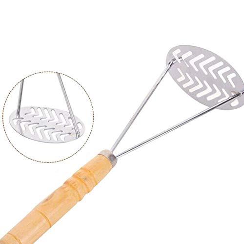 Grea Professional Grip Wire Masher Für Küche Gestampfte Gedrückte Kartoffeln Werkzeuge Edelstahl Kartoffelstampfer, 1 Grip Masher