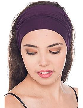Suave cinta para la cabeza algodón para mujer