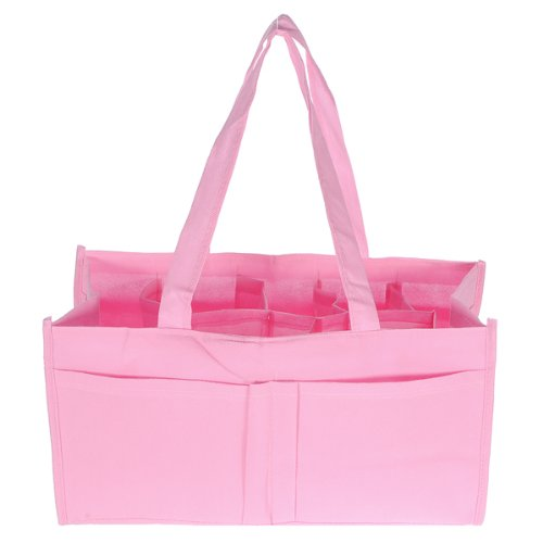 fittek-travel-outdoor-portable-baby-diaper-nappy-storage-insert-organizer-bag-totepink