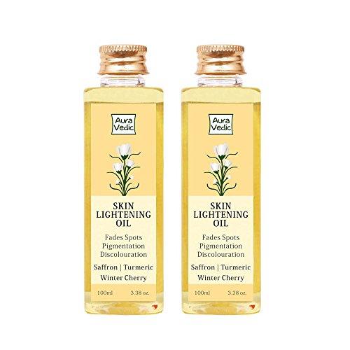 Auravedic Skin Lightening Oil, 100ml (Pack of 2)