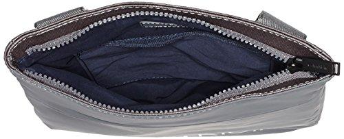 Calvin Klein Jeans Herren Logan 2.0 Flat Umhängetaschen, 28x25x3 cm Grau (ABYSS 020 020)
