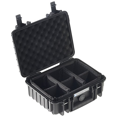 B&W outdoor.cases Typ 1000 mit variabler Facheinteilung (RPD) - Das Original