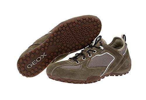 Geox  U6207C 02214C1018, Chaussures de ville à lacets pour homme - - DOVE GREY Gris - Gris