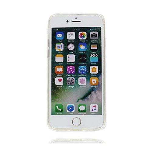 iPhone 7 Copertura,iPhone 7 Custodia,Caso sottile di TPU di modello del limone orso della frutta di alta qualità[Prova di scossa]case Cover for iPhone 7 4.7 #