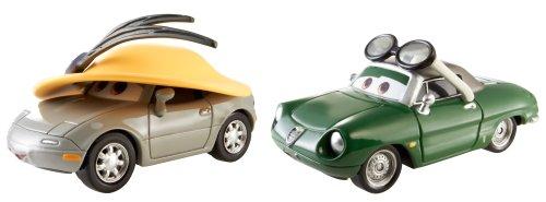 Mattel BDW86 - Disney Cars Die-Cast 2er Pack Kimberly Rims und Carinne Cavvy