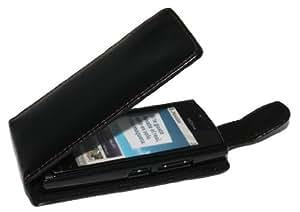 Handy Tasche Etui Hülle Flip für Nokia 500 / Handytasche Schutzhülle inkl. Handy-Punkt Displayreinigungstuch