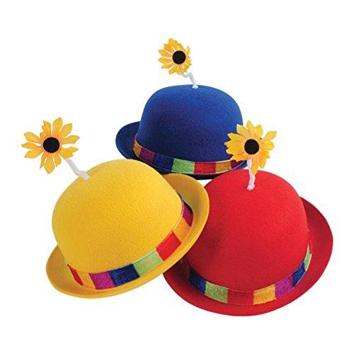 US Toy Clown Bowler Derby Hut mit Daisy (RYB 3 / ()