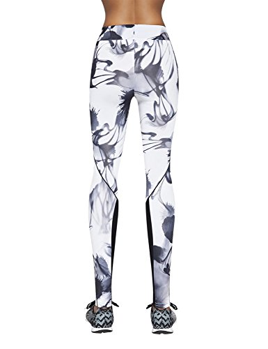 Bas Bleu Calypso Joli Et Confortable Legging De Sport – Fabriqué En UE bariolé
