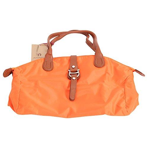 AIGNER Frauen Handtasche Shopper MAUVE L in Orange Größe L