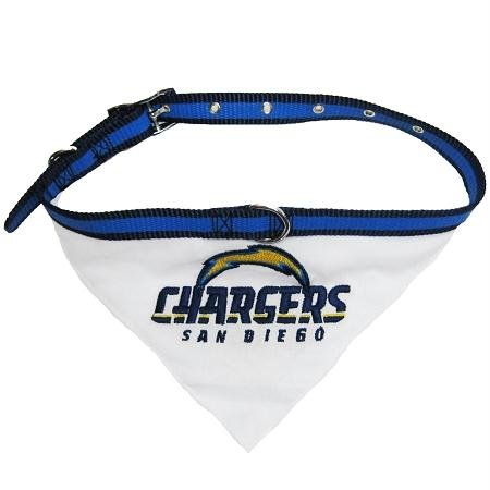Mirage NFL San Diego Ladegeräte Hundehalsband Bandana (Bandana Pet Nfl)
