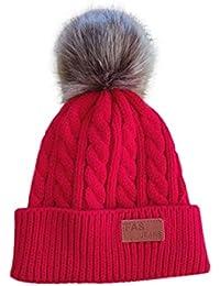 Amazon.fr   bonnet - 4 étoiles   plus   Bébé fille 0-24m   Bébé ... 4383ea27d8c