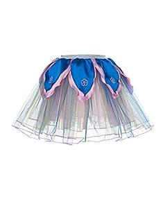 DREAMY DRESS-UPS 50450Hada Disfraz De tutú de Flor de Rainbow (Tamaño Mediano)