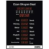 Eratec Gebetsuhr Azan Uhr Fajr Gr. M AZ-1001 Ezan Saati